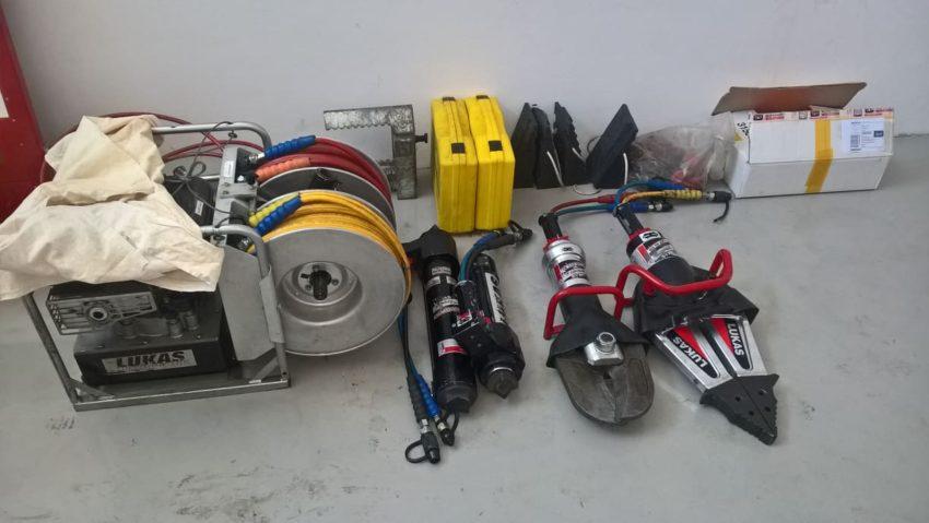 Hydraulické vyprošťovací zařízení Lukas