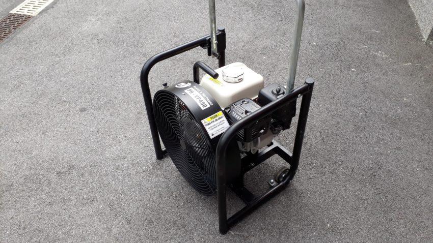 Přetlakový ventilátor